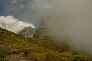 Nubes en las alturas